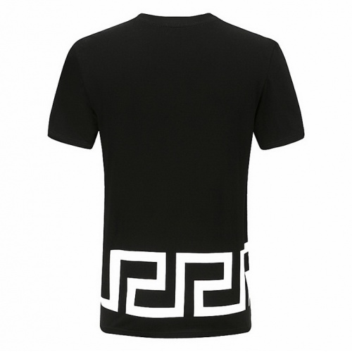 Replica Versace T-Shirts Short Sleeved For Men #839889 $25.00 USD for Wholesale