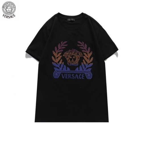 Versace T-Shirts Short Sleeved For Men #839890 $29.00, Wholesale Replica Versace T-Shirts