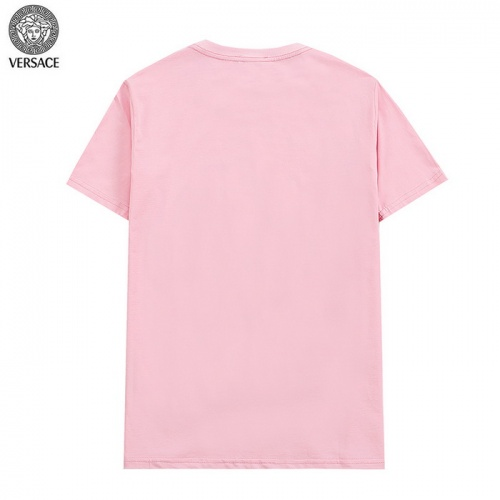 Replica Versace T-Shirts Short Sleeved For Men #839893 $27.00 USD for Wholesale