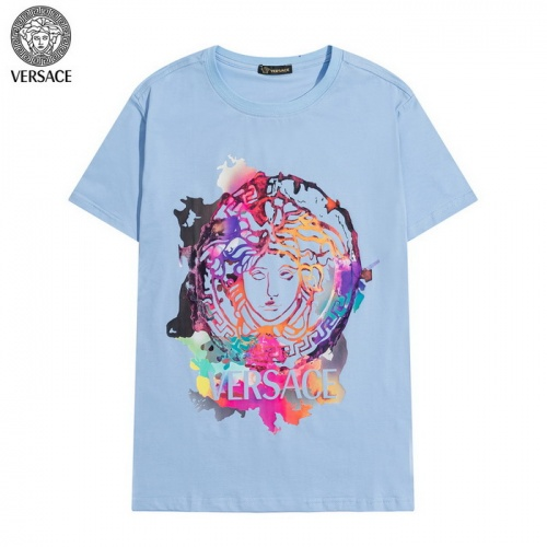 Versace T-Shirts Short Sleeved For Men #839895