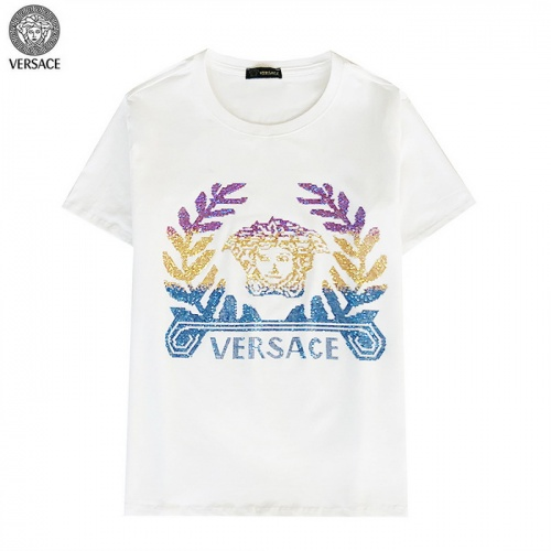 Versace T-Shirts Short Sleeved For Men #839896 $27.00, Wholesale Replica Versace T-Shirts