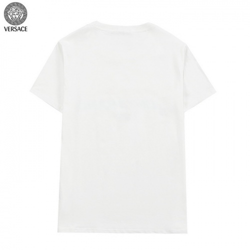 Replica Versace T-Shirts Short Sleeved For Men #839896 $27.00 USD for Wholesale