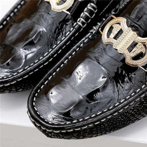 Replica Versace Casual Shoes For Men #839924 $76.00 USD for Wholesale