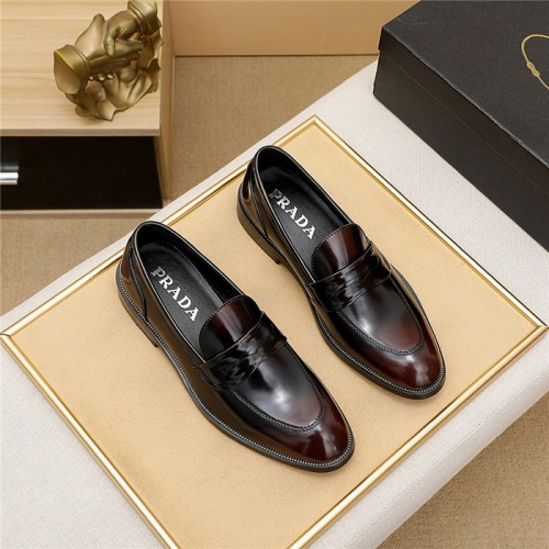 Prada Leather Shoes For Men #839934