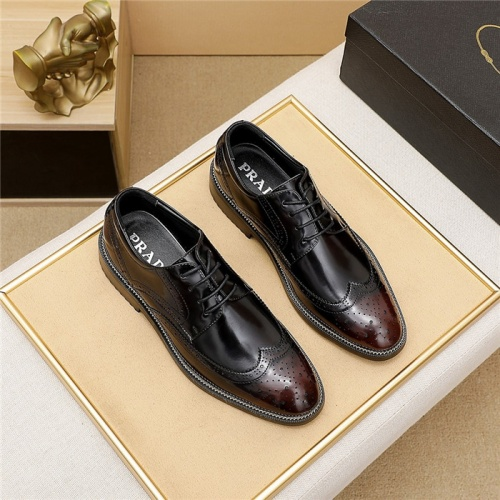 Prada Leather Shoes For Men #839936