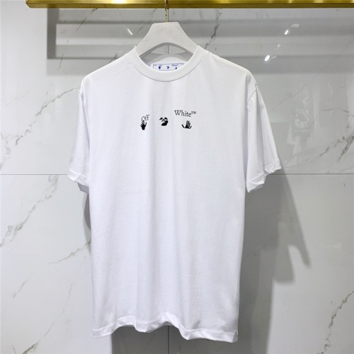 Replica Off-White T-Shirts Short Sleeved For Men #839949 $41.00 USD for Wholesale