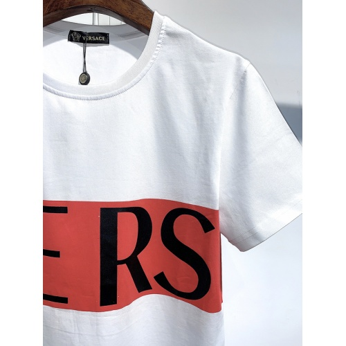 Replica Versace T-Shirts Short Sleeved For Men #839955 $26.00 USD for Wholesale