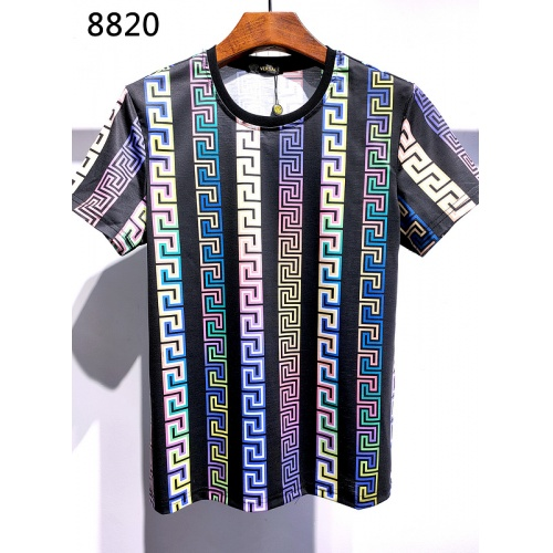 Versace T-Shirts Short Sleeved For Men #839957 $30.00, Wholesale Replica Versace T-Shirts