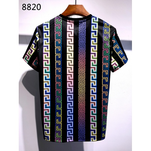Replica Versace T-Shirts Short Sleeved For Men #839957 $30.00 USD for Wholesale