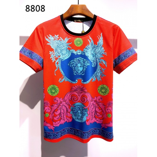 Versace T-Shirts Short Sleeved For Men #839961