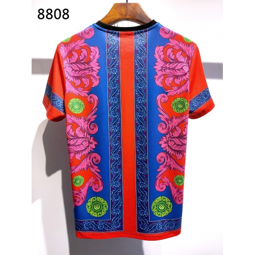 Replica Versace T-Shirts Short Sleeved For Men #839961 $30.00 USD for Wholesale
