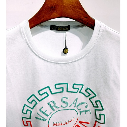Replica Versace T-Shirts Short Sleeved For Men #839964 $26.00 USD for Wholesale