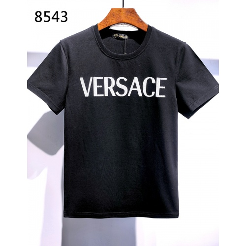 Versace T-Shirts Short Sleeved For Men #839968 $26.00, Wholesale Replica Versace T-Shirts