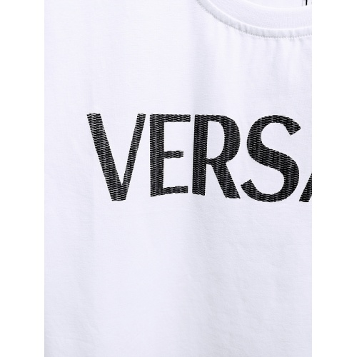 Replica Versace T-Shirts Short Sleeved For Men #839969 $26.00 USD for Wholesale