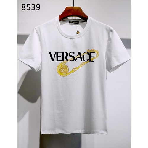 Versace T-Shirts Short Sleeved For Men #839972 $26.00, Wholesale Replica Versace T-Shirts