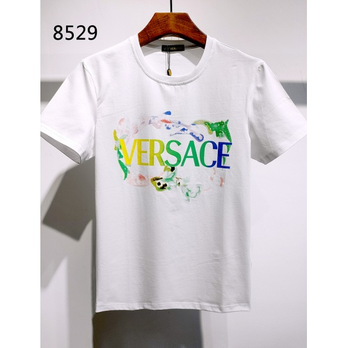 Versace T-Shirts Short Sleeved For Men #839977 $26.00, Wholesale Replica Versace T-Shirts
