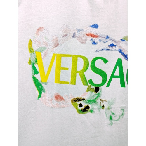 Replica Versace T-Shirts Short Sleeved For Men #839977 $26.00 USD for Wholesale