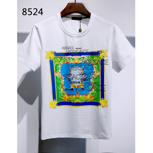 Versace T-Shirts Short Sleeved For Men #839979