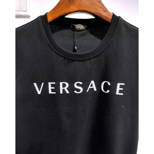 Replica Versace T-Shirts Short Sleeved For Men #839983 $26.00 USD for Wholesale