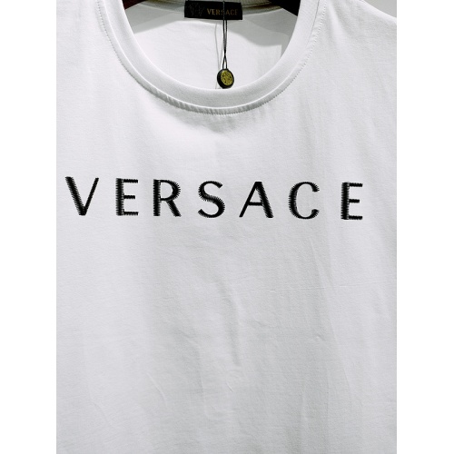 Replica Versace T-Shirts Short Sleeved For Men #839984 $26.00 USD for Wholesale