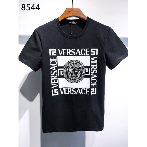 Versace T-Shirts Short Sleeved For Men #839988 $26.00, Wholesale Replica Versace T-Shirts