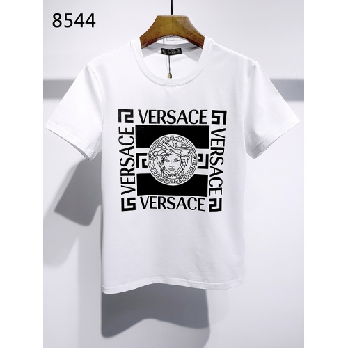 Versace T-Shirts Short Sleeved For Men #839989 $26.00, Wholesale Replica Versace T-Shirts