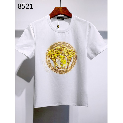 Versace T-Shirts Short Sleeved For Men #839992 $26.00, Wholesale Replica Versace T-Shirts