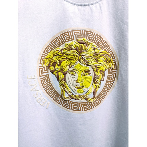 Replica Versace T-Shirts Short Sleeved For Men #839992 $26.00 USD for Wholesale