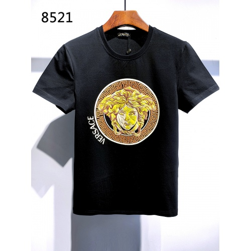 Versace T-Shirts Short Sleeved For Men #839993 $26.00, Wholesale Replica Versace T-Shirts