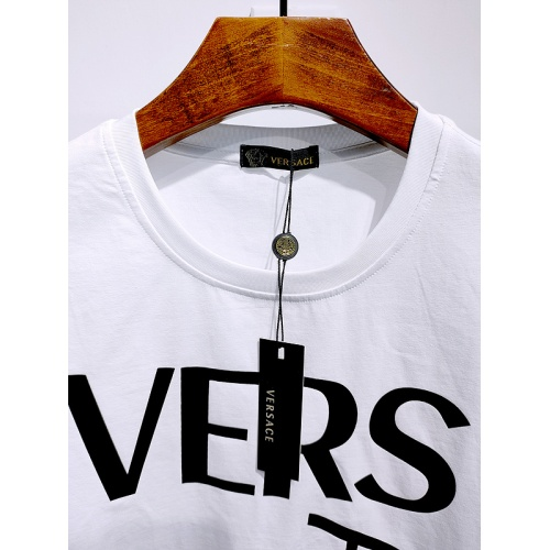 Replica Versace T-Shirts Short Sleeved For Men #839995 $26.00 USD for Wholesale