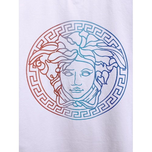 Replica Versace T-Shirts Short Sleeved For Men #839996 $26.00 USD for Wholesale