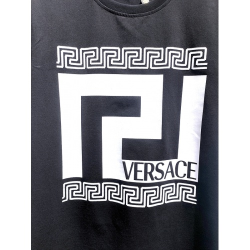 Replica Versace T-Shirts Short Sleeved For Men #839998 $26.00 USD for Wholesale