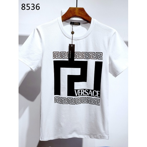 Versace T-Shirts Short Sleeved For Men #839999 $26.00, Wholesale Replica Versace T-Shirts