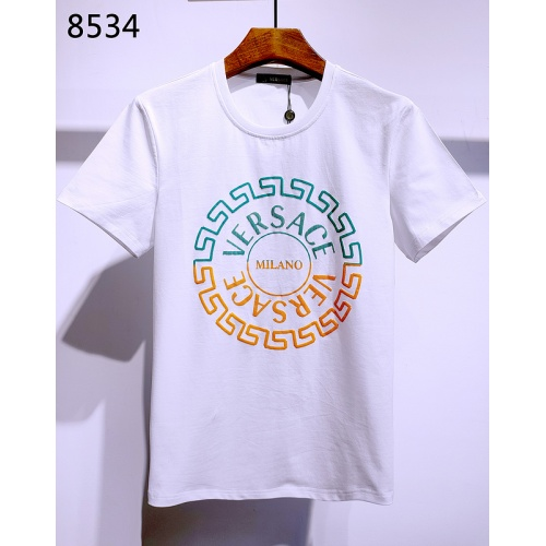 Versace T-Shirts Short Sleeved For Men #840002 $26.00, Wholesale Replica Versace T-Shirts