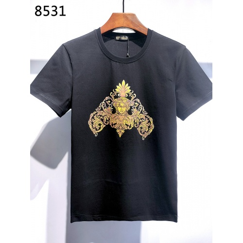 Versace T-Shirts Short Sleeved For Men #840004 $26.00, Wholesale Replica Versace T-Shirts