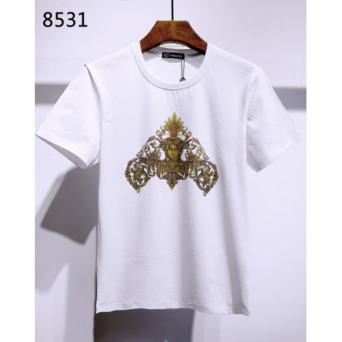 Versace T-Shirts Short Sleeved For Men #840005 $26.00, Wholesale Replica Versace T-Shirts