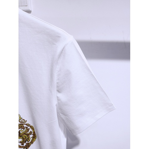 Replica Versace T-Shirts Short Sleeved For Men #840005 $26.00 USD for Wholesale