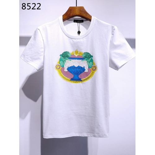Versace T-Shirts Short Sleeved For Men #840009 $26.00, Wholesale Replica Versace T-Shirts