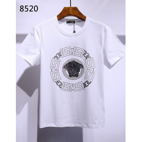 Versace T-Shirts Short Sleeved For Men #840010 $26.00, Wholesale Replica Versace T-Shirts
