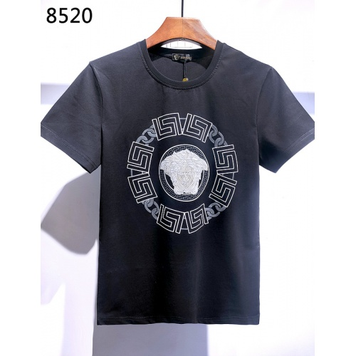 Versace T-Shirts Short Sleeved For Men #840011 $26.00, Wholesale Replica Versace T-Shirts