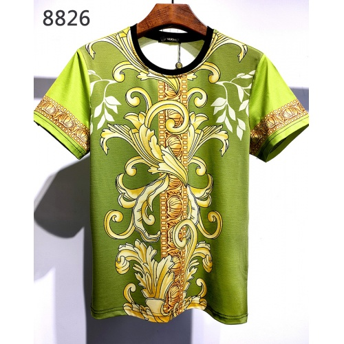 Versace T-Shirts Short Sleeved For Men #840014 $30.00, Wholesale Replica Versace T-Shirts
