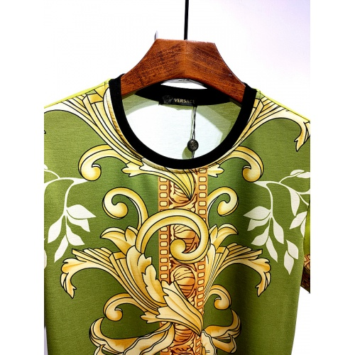 Replica Versace T-Shirts Short Sleeved For Men #840014 $30.00 USD for Wholesale