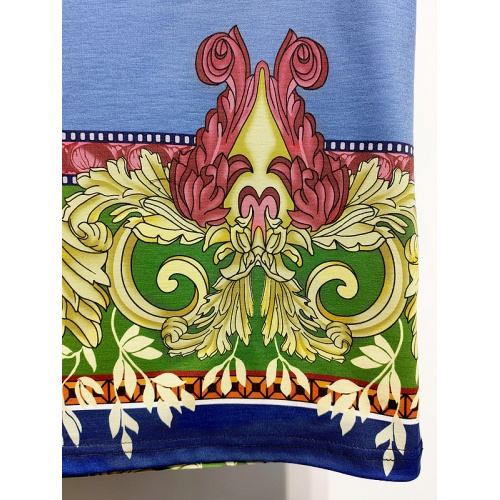 Replica Versace T-Shirts Short Sleeved For Men #840015 $30.00 USD for Wholesale