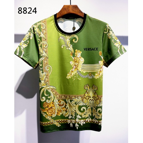 Versace T-Shirts Short Sleeved For Men #840016 $30.00, Wholesale Replica Versace T-Shirts