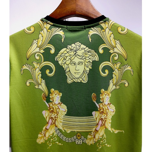 Replica Versace T-Shirts Short Sleeved For Men #840016 $30.00 USD for Wholesale