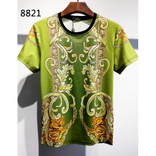 Versace T-Shirts Short Sleeved For Men #840017 $30.00, Wholesale Replica Versace T-Shirts