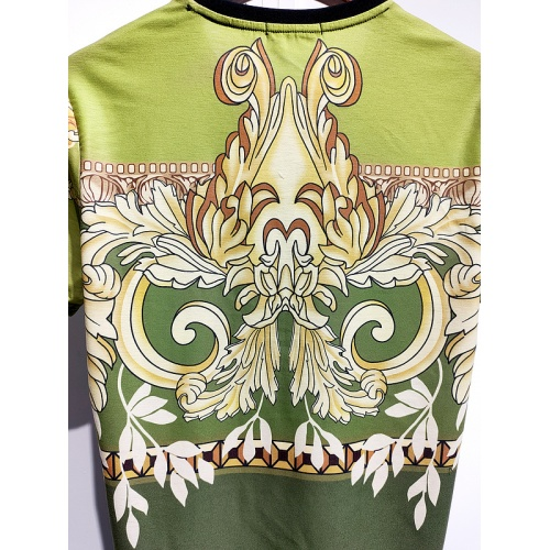 Replica Versace T-Shirts Short Sleeved For Men #840017 $30.00 USD for Wholesale