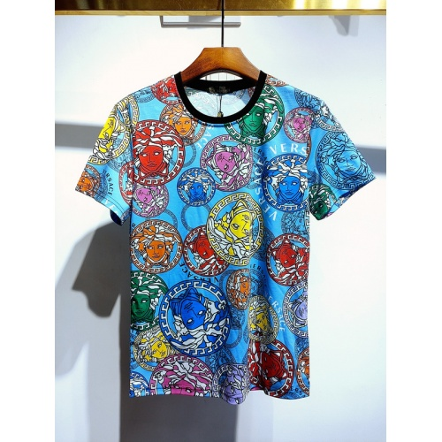 Versace T-Shirts Short Sleeved For Men #840020 $30.00, Wholesale Replica Versace T-Shirts