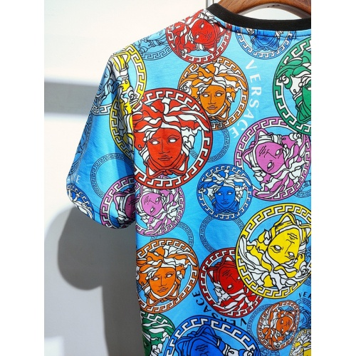 Replica Versace T-Shirts Short Sleeved For Men #840020 $30.00 USD for Wholesale
