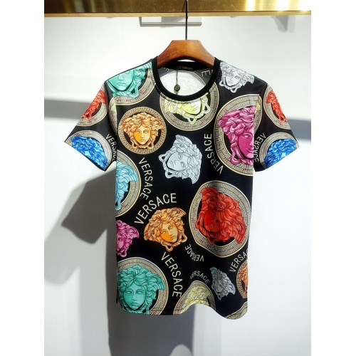 Versace T-Shirts Short Sleeved For Men #840021 $30.00, Wholesale Replica Versace T-Shirts